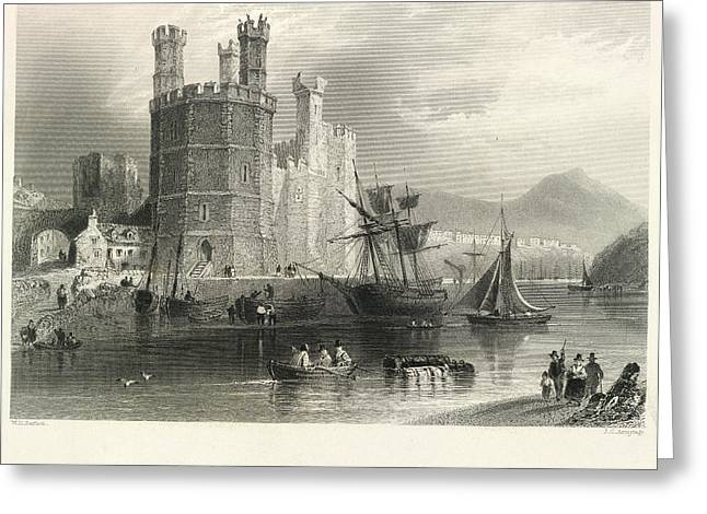 Carnarvon Castle Greeting Card