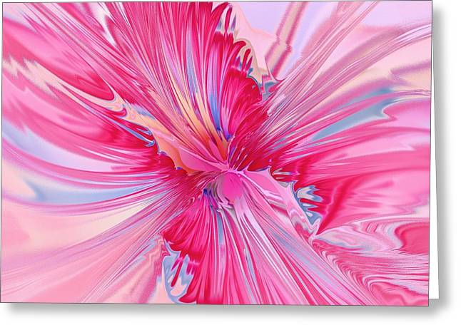 Carnation Pink Greeting Card