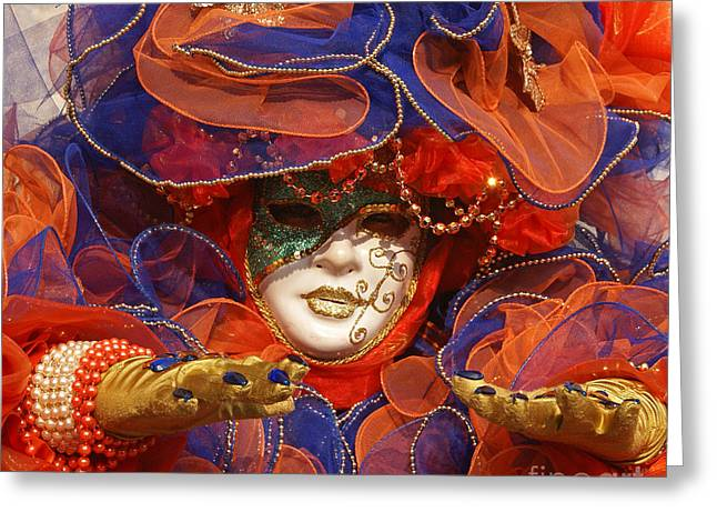 Carnevale Di Venezia 21 Greeting Card