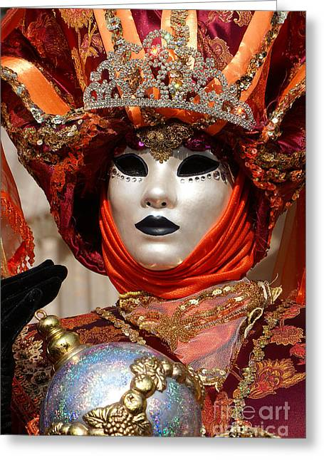 Carnevale Di Venezia 54 Greeting Card
