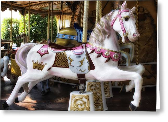 Carnival - Carousel Greeting Card