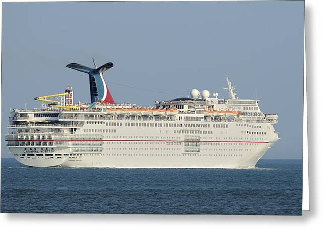 Carnival Ecstasy Greeting Card