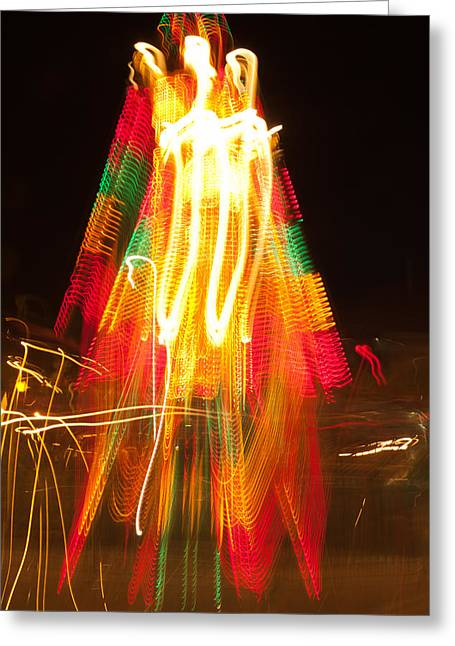 Greeting Card featuring the photograph Carnival Guardian by Terri Harper