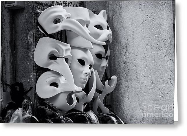 Carnival In Venice Greeting Card by Design Remix