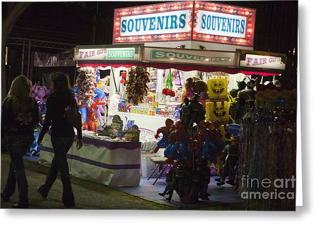 Carnival Souvenirs Greeting Card by Jason O Watson