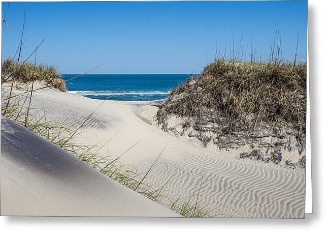 Greeting Card featuring the photograph Carolina Blue by Gregg Southard