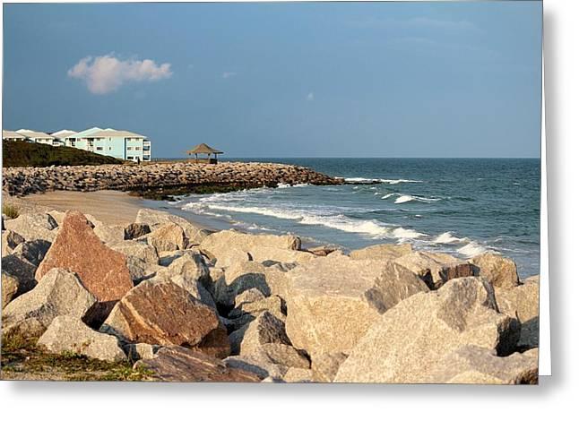 Greeting Card featuring the photograph Carolina Coast by Cynthia Guinn