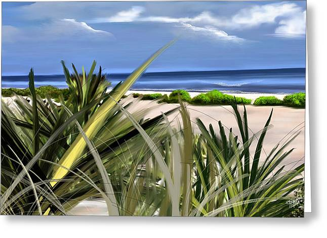 Carolina Dunes Greeting Card