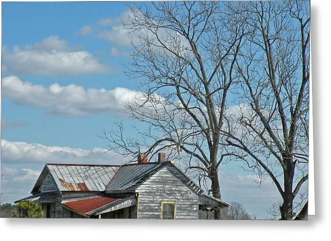 Carolina Farm House Greeting Card
