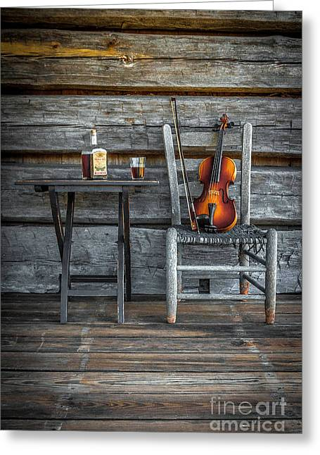 Carolina Fiddl'n Greeting Card