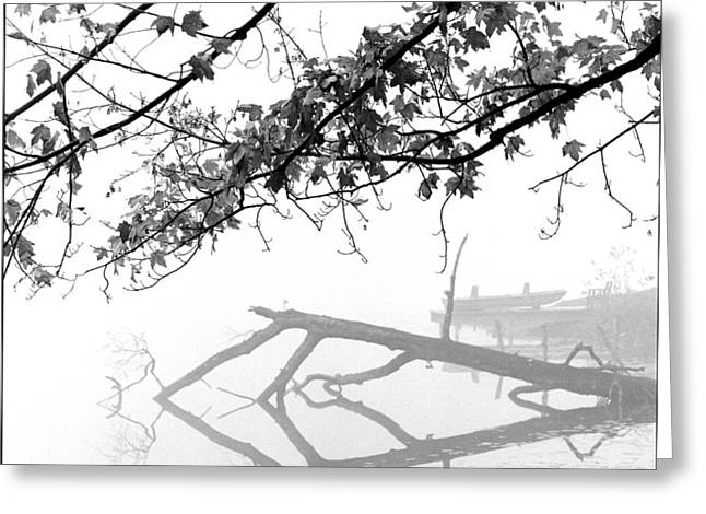 Carpenter Lake Morning Greeting Card