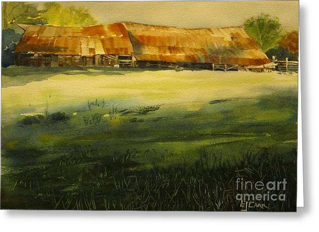 Carr Barn Greeting Card