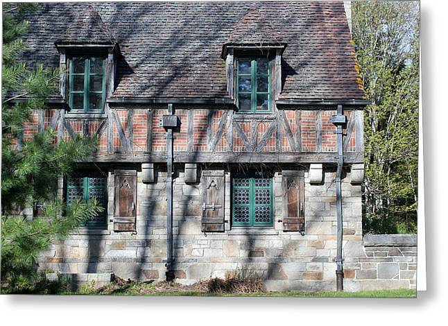 Carriage House 2 Greeting Card by Mary Bedy