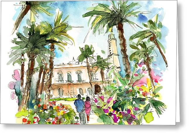 Cartagena 02 Greeting Card by Miki De Goodaboom