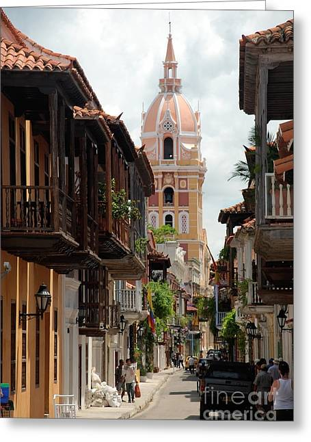 Cartagena Greeting Card