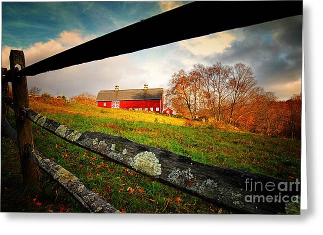 Carter Farm Connecticut Greeting Card