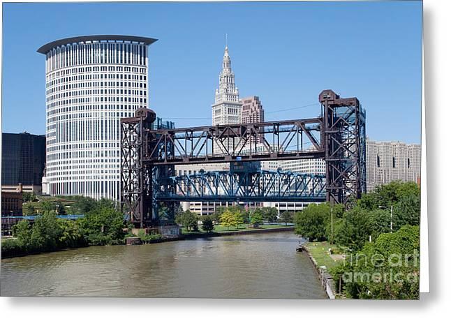 Carter Road Lift Bridge Greeting Card by Bill Cobb