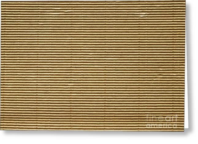 Carton Surface Greeting Card by Sinisa Botas