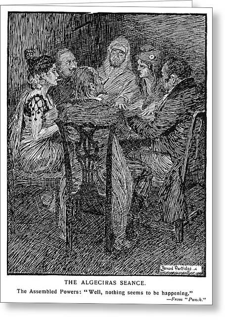 Cartoon Seance, 1906 Greeting Card