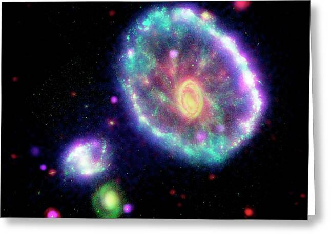 Cartwheel Galaxy Greeting Card
