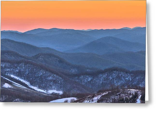 Carver's Gap Greeting Card by Donnie Smith