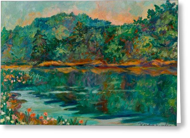 Carvins Cove Greeting Card by Kendall Kessler