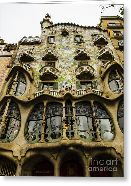 Casa Batllo Exterior Greeting Card