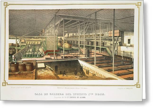 Casa De Caldera Greeting Card by British Library