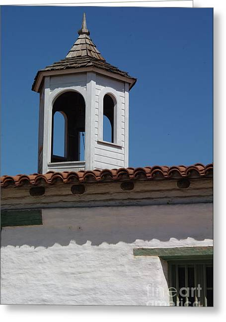 Casa De Estudillo - Old Town San Diego Greeting Card by Anna Lisa Yoder