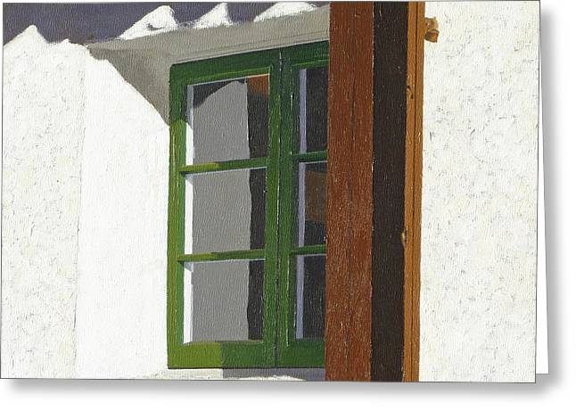 Casa Romantica Two Greeting Card by Michael Ward