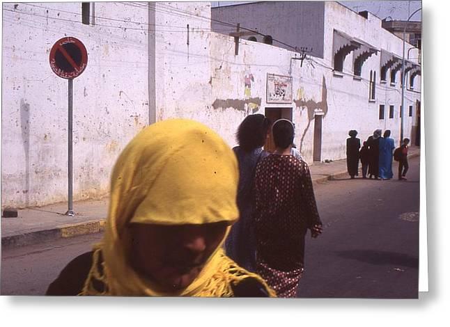 Casablanca 1996 Greeting Card by Rolf Ashby