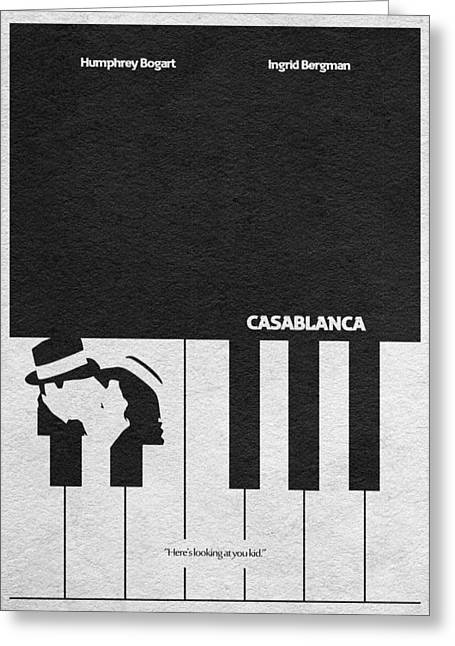 Casablanca Greeting Card by Ayse Deniz