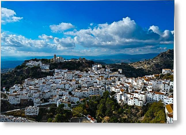 Casares In December Greeting Card