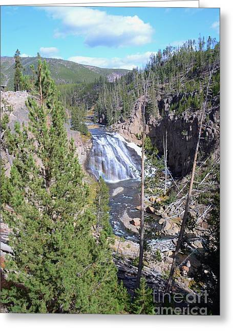 Cascade Canyon Greeting Card by Kathleen Struckle