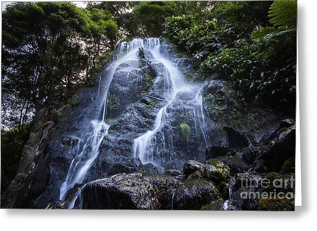 Cascade On Sao Muigel Greeting Card