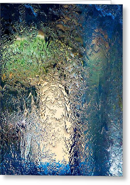 Cascade Greeting Card by wDm Gallery