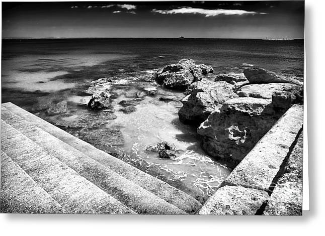Cascais Angles Greeting Card by John Rizzuto