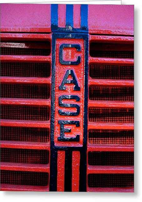Case Greeting Card by Eric Tressler