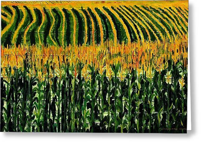 Cash Crop Corn Greeting Card