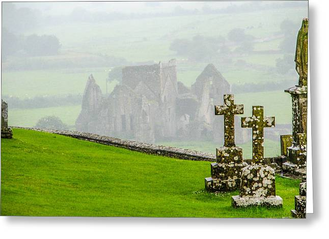 Cashel Greeting Card by Gestalt Imagery
