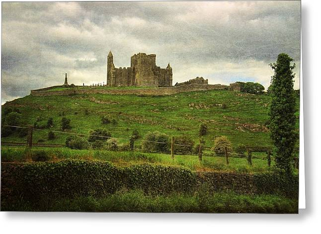 Cashel Rock Greeting Card by Mary Hershberger
