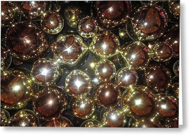 Casino Sparkle Interior Decorations Greeting Card by Navin Joshi