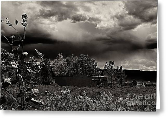 Casita In A Storm Greeting Card