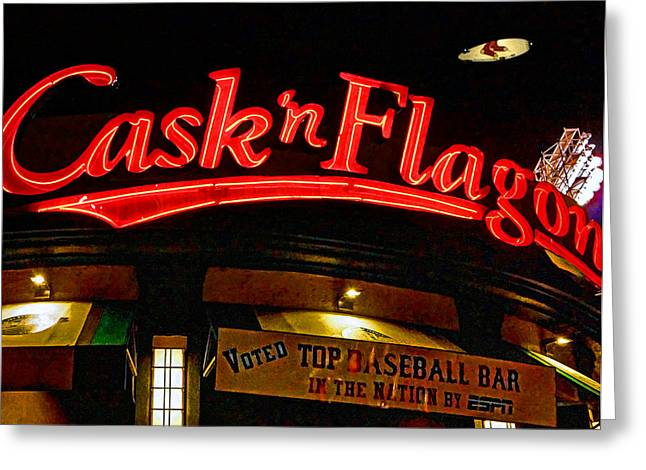 Cask And Flagon 002 Greeting Card