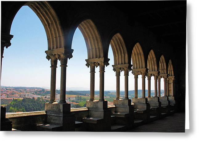 Castel Leiria Greeting Card