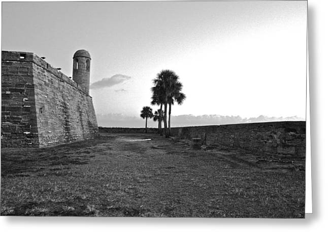 Castillo De San Marcos View 2 Greeting Card