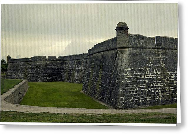 Castillo San Marcos 5 Greeting Card by Laurie Perry