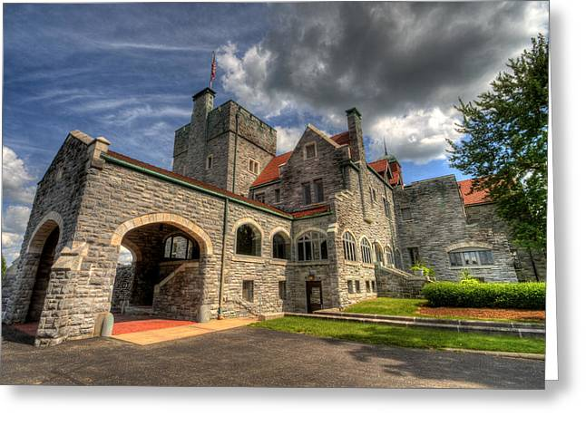Castle Administration Building Greeting Card