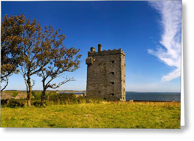 Castle At The Riverside, Macmahon Greeting Card by Panoramic Images