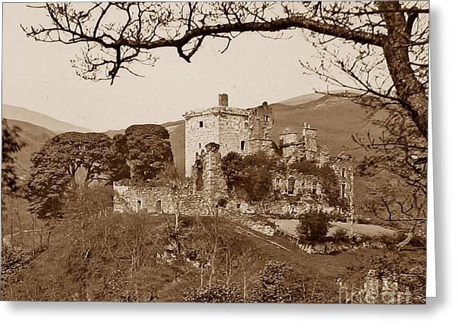 Castle Campbell Scotland Greeting Card